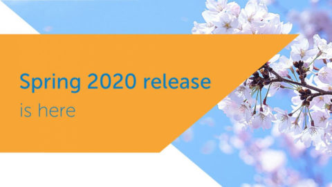 Spring 2020 Release